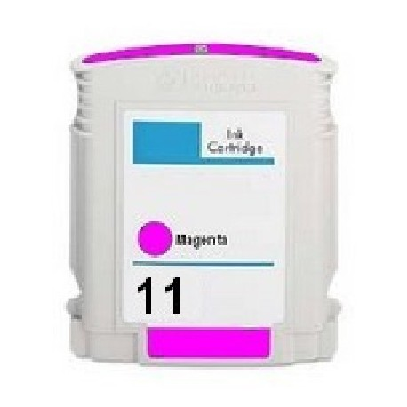 Cartucho de tinta compatible con HP C4837A Magenta N11