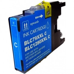Cartucho de tinta compatible con Brother CB1280C/XL Cyan.