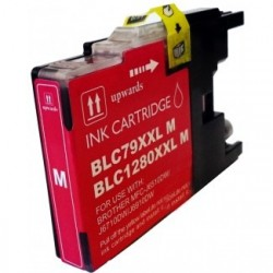 TINTA COMPATIBLE BROTHER LC1220XL LC1240XL LC1280M XL MAGENTA 16.6ml