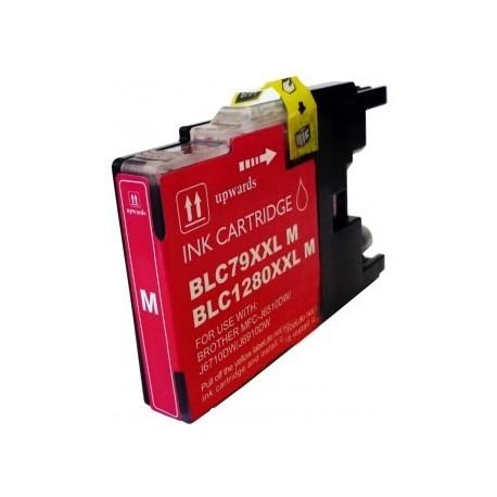Cartucho de tinta compatible con Brother CB1280M/XL Magenta