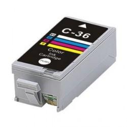Cartucho de tinta compatible con CANON CLI-36 Tricolor