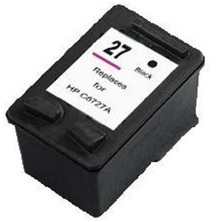 Cartucho de tinta compatible con HP C8727A Black N27