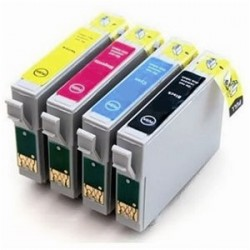 Cartucho de tinta compatible con EPSON T1002 CYAN 18ML.