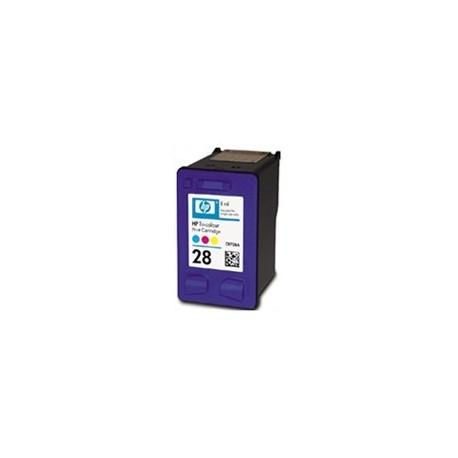 Cartucho de tinta compatible con HP Nº28 19ML. COLOR