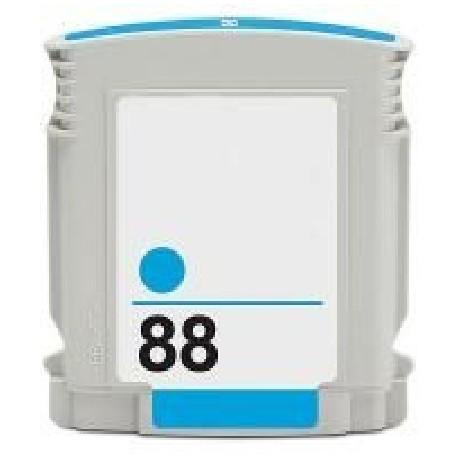 Cartucho de tinta remanufacturada con HP C9391E Cyan N88 28ML