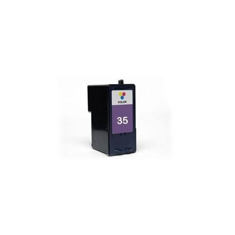Cartucho de tinta compatible con LEXMARK Nº35 COLOR 21ML.