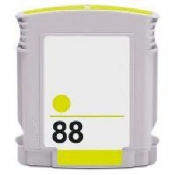 Cartucho de tinta remanufacturada con HP C9393E Yellow N88 28ML