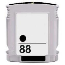 Cartucho de tinta remanufacturada con HP C9396E Black N88XL 69ML