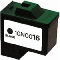 Cartucho de tinta compatible con Lexmark 10N0016 Black N16 (15 ML)