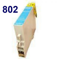 Tinta Compatible EPSON T080240 Cyan