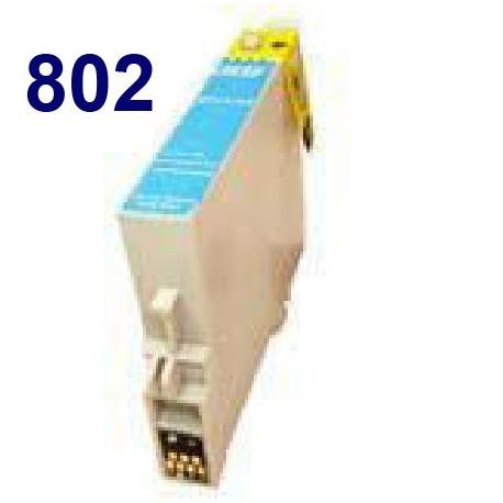 Cartucho de tinta remanufacturado para Epson T080240 Cyan