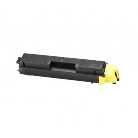 Cartucho de toner compatible con KYOCERA TK-590YELL. 5000Pag.