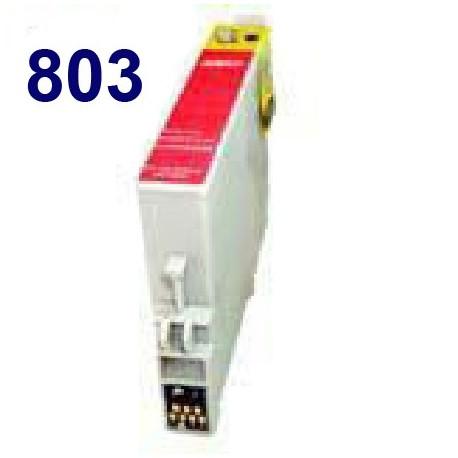 Cartucho de tinta remanufacturado para Epson T080340 Magenta