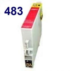 Cartucho de tinta remanufacturado para Epson T048340 Magenta