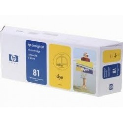 HP Designjet 5000/ 5000ps/ 5500 (HP 83)PIGMENTED Y