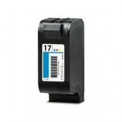 Cartucho de tinta compatible con HP C6625A Tricolor N17 36ml