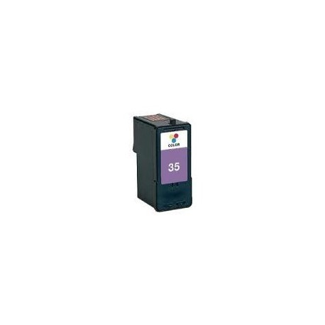Tinta compatible LEXMARK LEX Nº35 Z810/812/815/816/818/X5210/5250/5260/5270 21ml. - COLOR