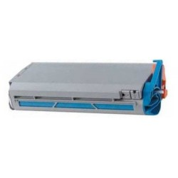 Toner compatible con Oki 41963007 Cyan 10k
