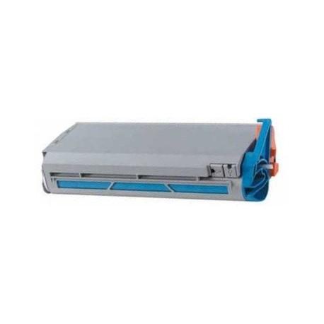 Toner compatible con Oki 41963007 Cyan (10.000 pag.)