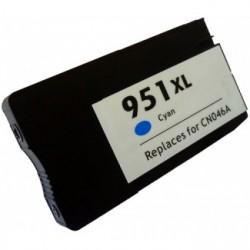 CARTUCHO COMPATIBLE HP Nº 951XL CYAN 30ML.