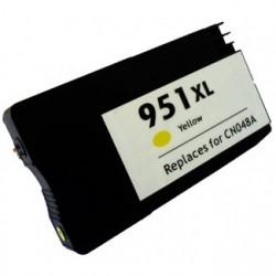 Cartucho HP 951XL AMARILLO compatible con HP Officejet Pro 8100 / 8600 CN048AE