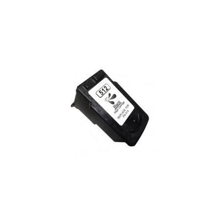 Tinta compatible CANON PG 512 PIXMA IP2700/3600/4850/MP230/240/250/260/270/MG5150/52506150/8150/MX340/350 (Origi 400p) BK