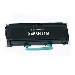 Toner compatible Lexmark X463H11G