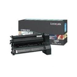Toner compatible Lexmark C780A1KG Negro