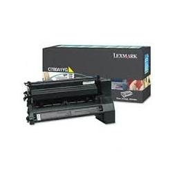 Toner compatible Lexmark C780A1YG Amarillo