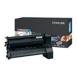Toner compatible Lexmark C780A1CG Cyan