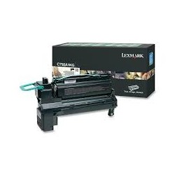 Toner compatible Lexmark C792A1KG Negro
