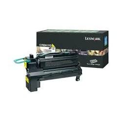 Toner compatible Lexmark C792A1YG Amarillo