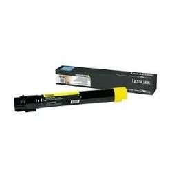 Toner compatible Lexmark X950X2YG Amarillo