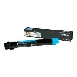 Toner compatible Lexmark X950X2CG Cyan