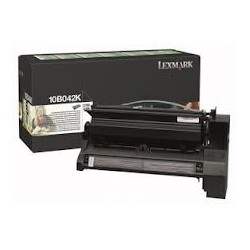 Toner compatible Lexmark 10B042K Negro