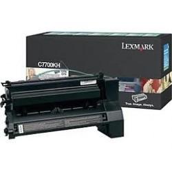 Toner comaptible Lexmark C7700KH Negro