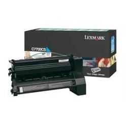 Toner compatible Lexmark C7700CS Cyan
