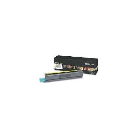Toner compatible Lexmark C925H2YG Amarillo