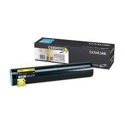 Toner comaptible Lexmark C930H2YG Amarillo
