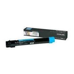 Toner compatible Lexmark C950X2CG Cyan