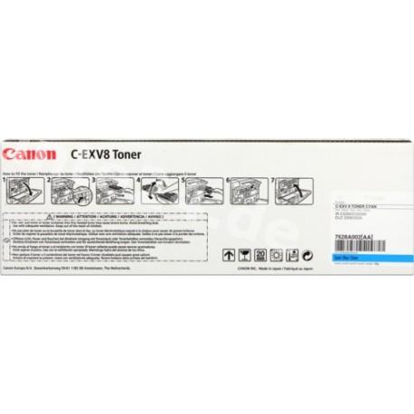 TONER COMPATIBLE CANON C-EXV8 CYAN