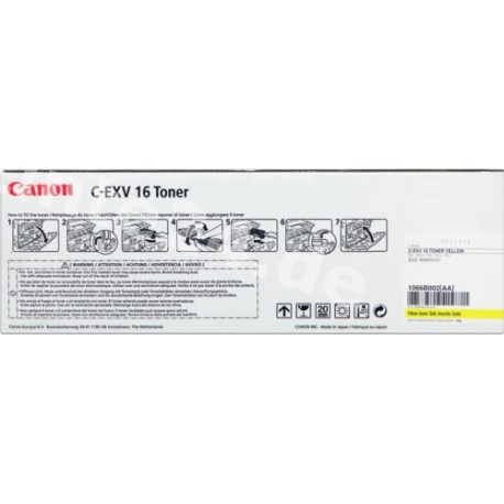 TONER COMPATIBLE CANON C-EXV16 YELLOW
