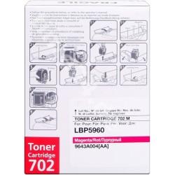 TONER COMPATIBLE CANON 702 9643A004 MAGENTA
