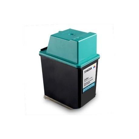 Cartucho de tinta compatible con HP 51625A Tricolor N25