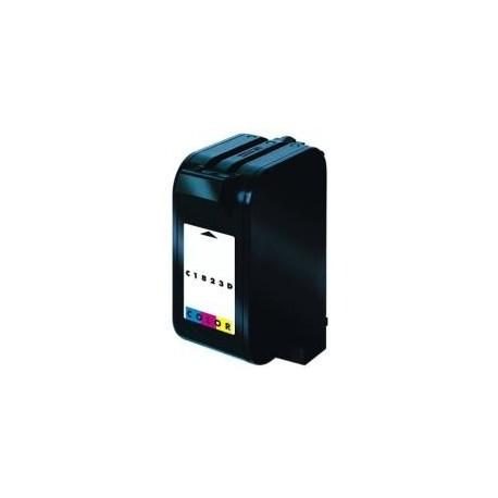 Cartucho de tinta compatible con HP C1823D Tricolor N23