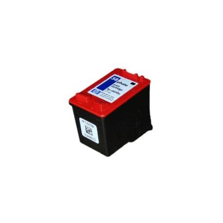 Cartucho de tinta compatible con HP C6658A Black photo N58