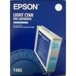 TINTA COMPATIBLE EPSON T465011 C13T465011 CYAN LIGHT