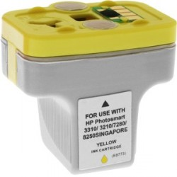 Cartucho de tinta compatible con HP C8773E Yellow N363