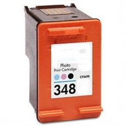Cartucho de tinta compatible con HP C9369E Tricolor photo N348