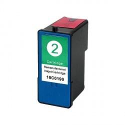 Tinta Compatible LEXMARK Nº 2 X2350 2310 2450 2470 3470 2550 Z735 845 18C0190 Tricolor